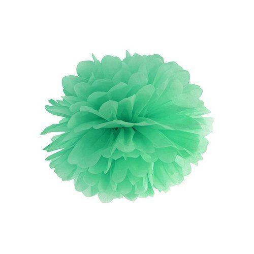 feestartikelen-pompom-mint-25cm