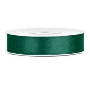 feestartikelen-satijnlint-donker-groen-12mm