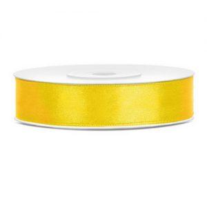 feestartikelen-satijnlint-geel-12mm