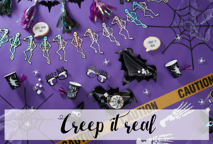 Aankleding Halloween Feest.Halloween Decoratie Creep It Real Feestartikelen What