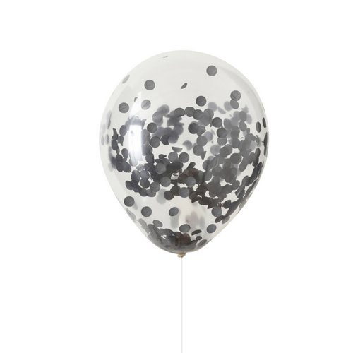 halloween-decoratie-confetti-ballonnen-zwart-pumpkin-party