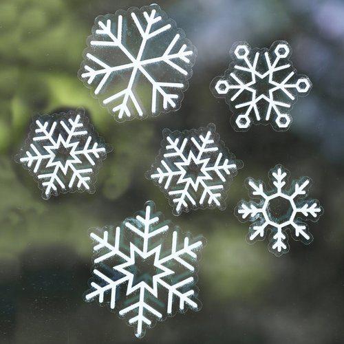 kerstversiering-raamsticker-snowflake-rustic-christmas-2