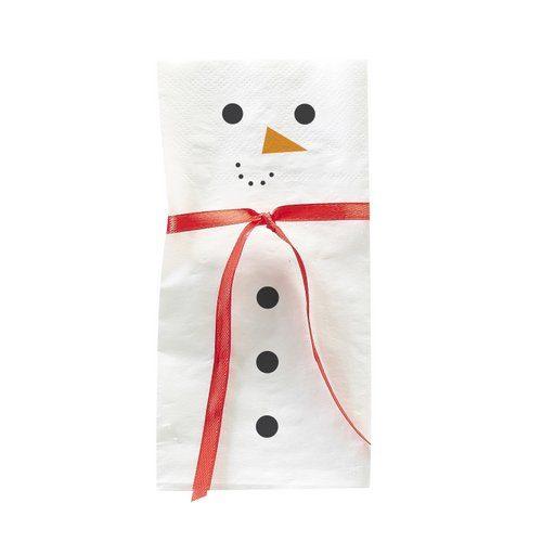 kerstversiering-servetten-snowman-scarf-novelty-christmas