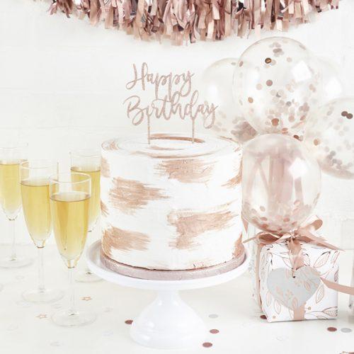 feestartikelen-acryl-cake-topper-happy-birthday-rosegoud-glitter-2