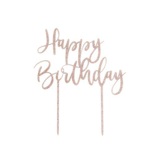 feestartikelen-acryl-cake-topper-happy-birthday-rosegoud-glitter