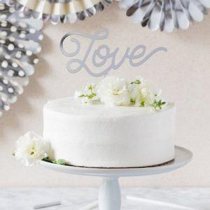 feestartikelen-acryl-cake-topper-love-zilver-2