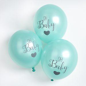 feestartikelen-ballonnen-oh-baby-ready-to-pop-groen-2