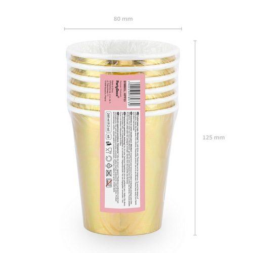 feestartikelen-papieren-bekertjes-cheers-metallic-gold-4