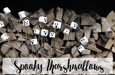Halloween hapjes: Spooky Marshmallows