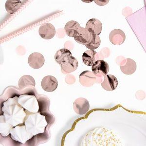feestartikelen-confetti-rose-gold-circles-3