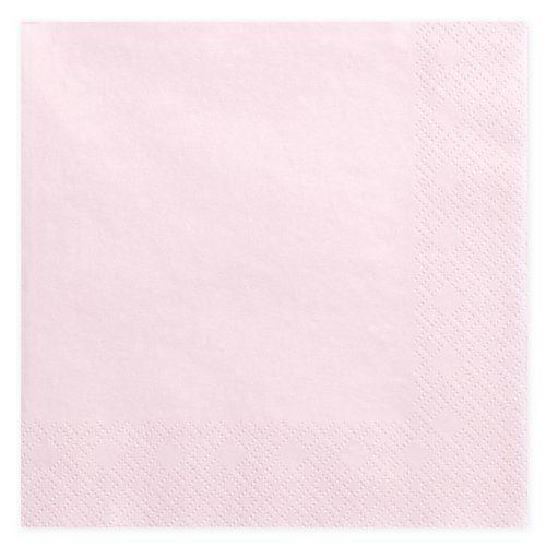feestartikelen-servetten-light-powder-pink