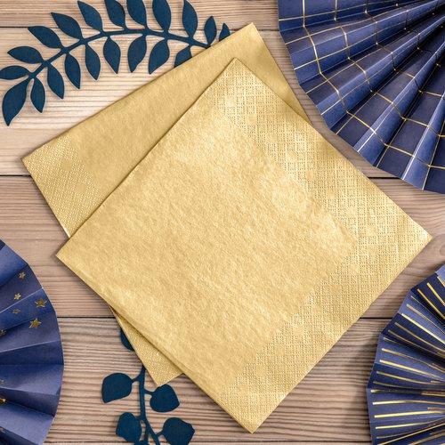 feestartikelen-servetten-metallic-gold-2