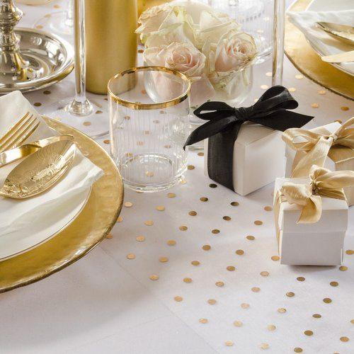 feestartikelen-tafelloper-golden-dots-11