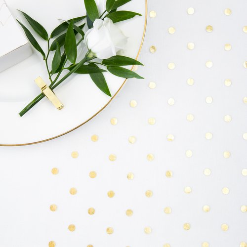 feestartikelen-tafelloper-golden-dots-18