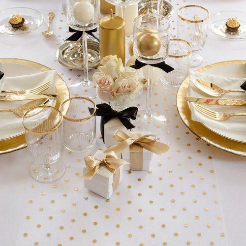 feestartikelen-tafelloper-golden-dots-9