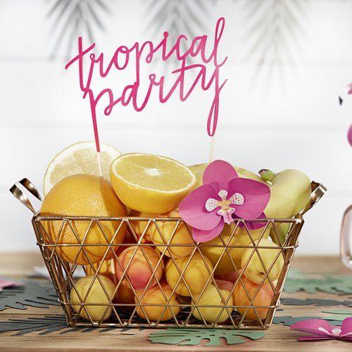 feestartikelen-cake-topper-tropical-party-fuchsia-2