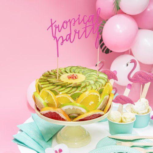feestartikelen-cake-topper-tropical-party-fuchsia-5