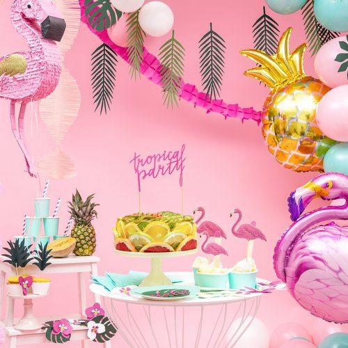 feestartikelen-cake-topper-tropical-party-fuchsia-7