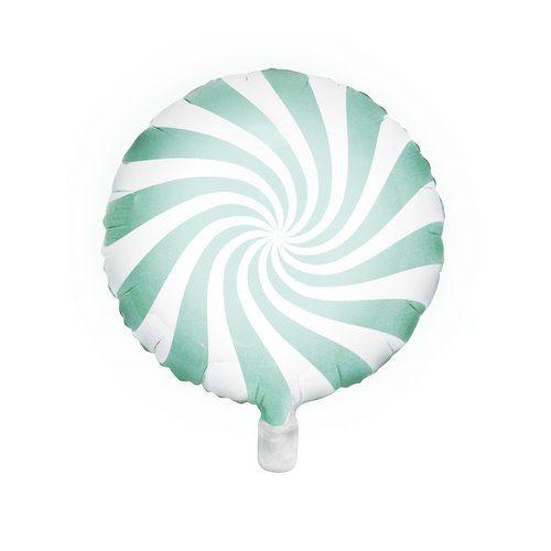 feestartikelen-folieballon-snoep-mint