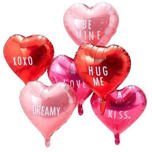 feestartikelen-folieballonnen-hart-be-my-valentine