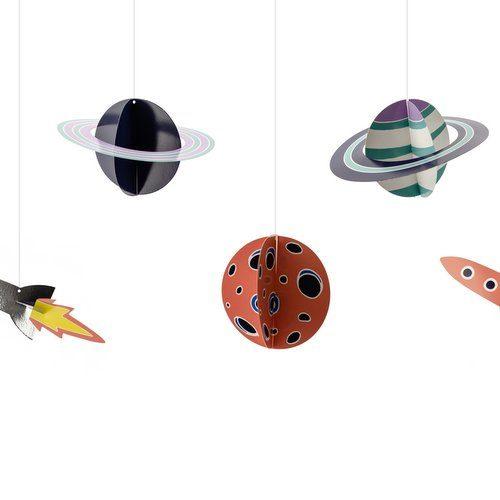 feestartikelen-hangende-planeten-space-party