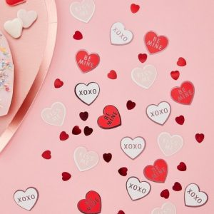 feestartikelen-hartjes-confetti-be-my-valentine-2