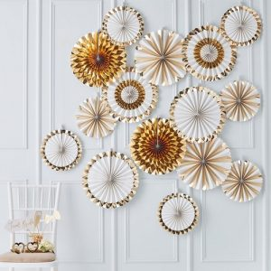 feestartikelen-mega-set-paper-fans-gold-wedding (2)