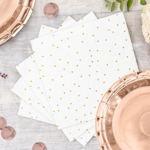 feestartikelen-servetten-golden-dots-6