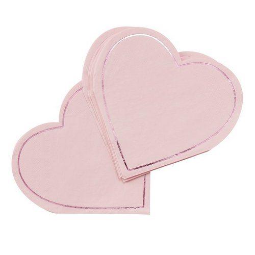 feestartikelen-servetten-hart-be-my-valentine