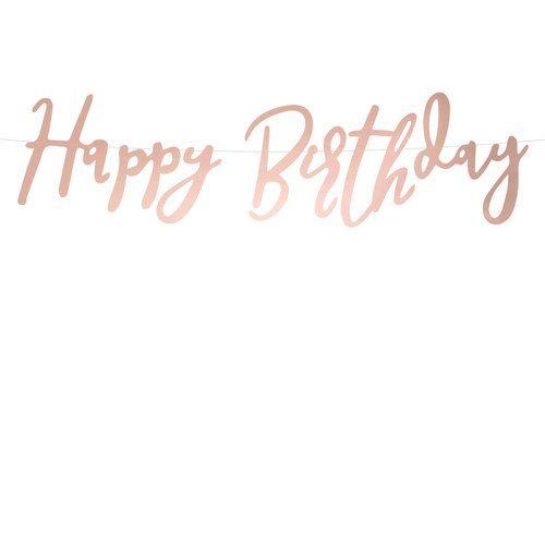 feestartikelen-slinger-happy-birthday-rose-gold