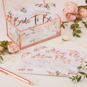vrijgezellenfeest-decoratie-floral-hen-kaarten-advice-for-the-bride-to-be