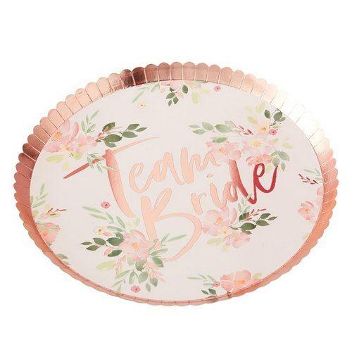 vrijgezellenfeest-decoratie-papieren-bordjes-team-bride-floral-hen (1)
