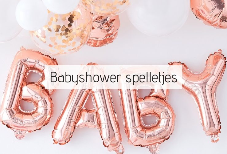 23 originele babyshower spelletjes!