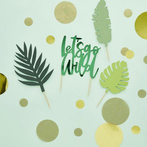 feestartikelen-cake-topper-lets-go-wild-tropic-like-its-hot-2