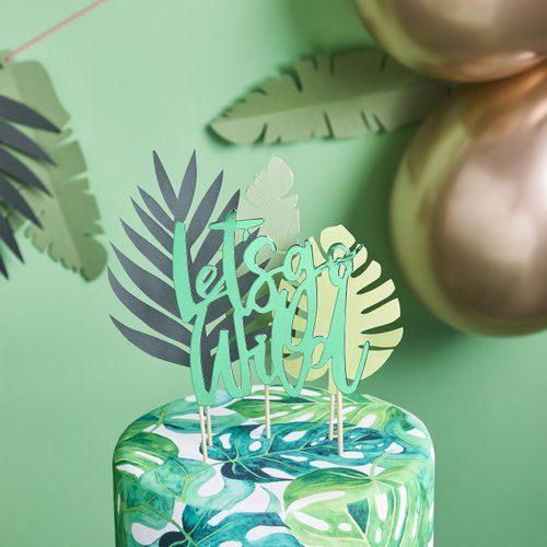 feestartikelen-cake-topper-lets-go-wild-tropic-like-its-hot-3