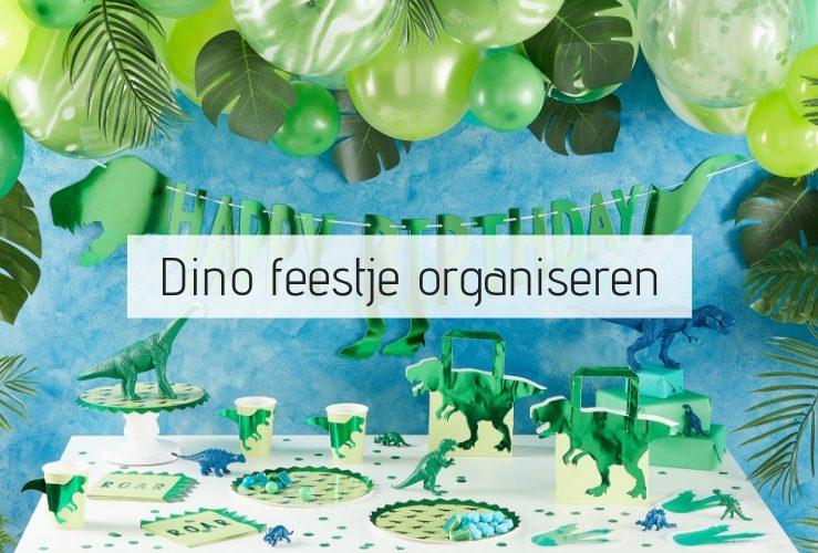 Zo organiseer jij een tof DINO feestje (met dino spelletjes!)