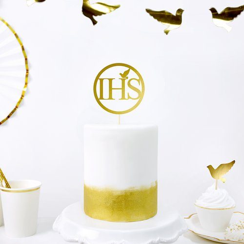 communie-versiering-cake-topper-ihs-first-communion-3