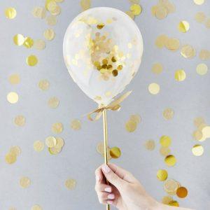 feestartikelen-mini-gouden-confetti-ballonnenkit