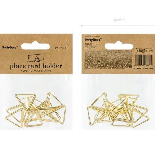 feestartikelen-plaatskaarthouders-triangle-goud-5