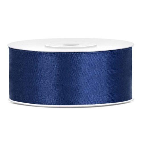 feestartikelen-satijnlint-25mm-navy-blauw