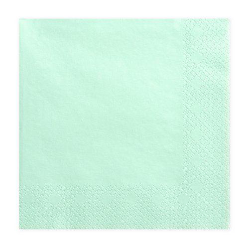 feestartikelen-servetten-mint