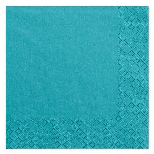 feestartikelen-servetten-turquoise