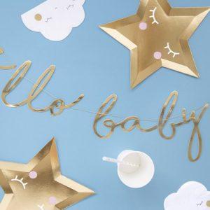 babyshower-versiering-hello-baby-slinger