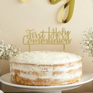 communie-versiering-cake-topper-first-holy-communion