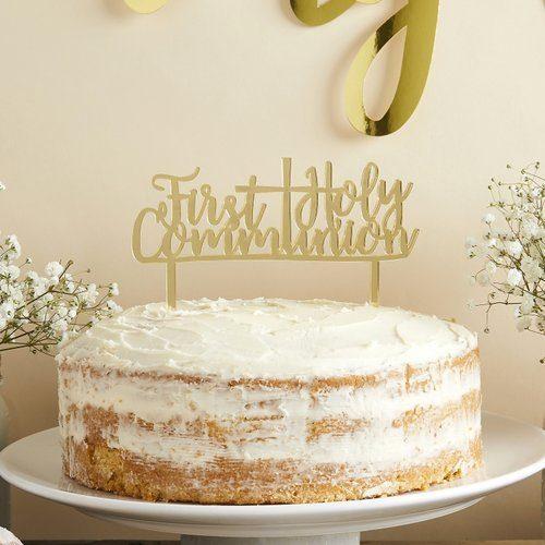 communie-versiering-cake-topper-first-holy-communion