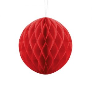 feestartikelen-honeycomb-rood