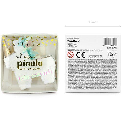 feestartikelen-mini-piñata-unicorn-golden-horn-4