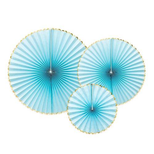 feestartikelen-paper-fans-light-blue-gold