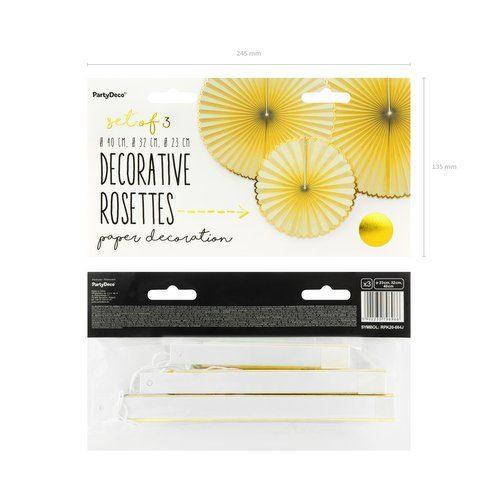 feestartikelen-paper-fans-yellow-gold-3