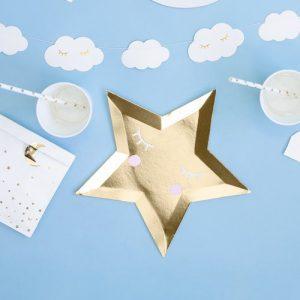 feestartikelen-papieren-bordjes-golden-star-little-star